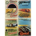 Castrol Land Speed Record posters, stk